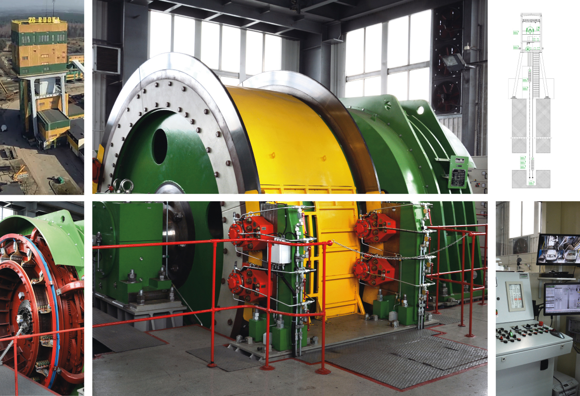 Comprehensive modernization of the mining skip hoist in the R-III shaft of KGHM Polska Miedź S.A. Branch